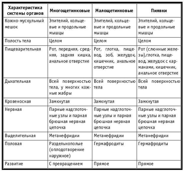 Биология 7 класс класс рыбы общая характеристика таблица