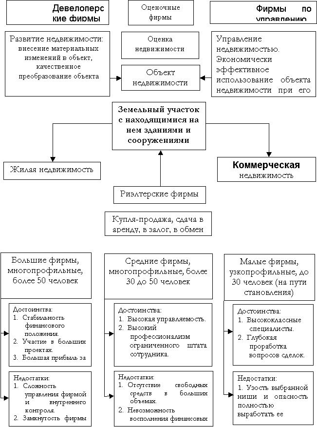 Структура предпринимательской