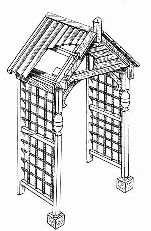 Стилизованный портал