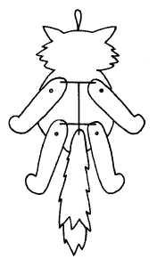 Игрушки дергунчики своими руками схемы