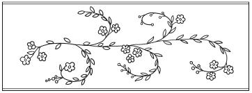 Вышивка бисером по контуру рисунка