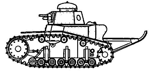 Советский танк МС-1 (Т-18)
