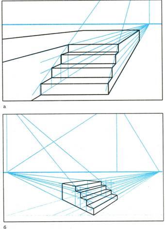 Построение лестницы в