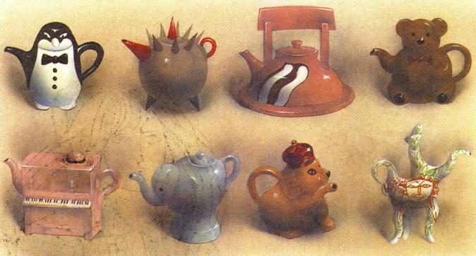 чайника картинки стилизация