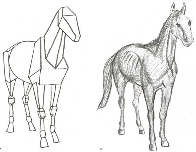 лошади (А. Лаптев) б.
