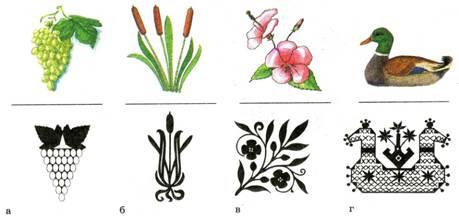 предмета рисунке формы стилизация в