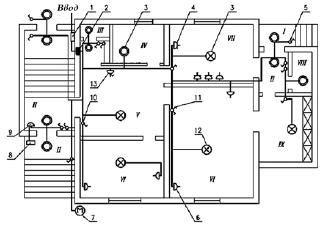 обозначения на электрических схемах квартир