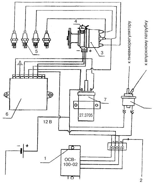 ваз 2101 ремонт схема замка зажигания