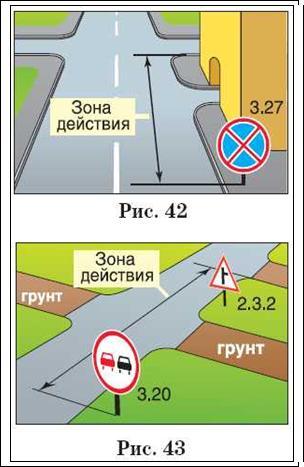 перекресток отменяет знаки
