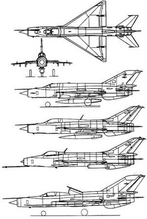 истребителя МиГ-21.
