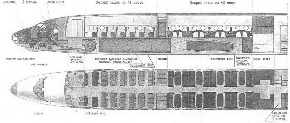 сделавший для Ту-114 едва