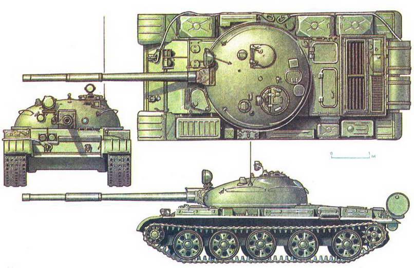 Советский средний танк т 62